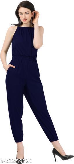 Shivam Creation New Arrival Navy Blue Sleevless Jumpsuits For Women's