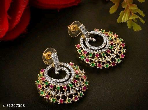 free gift feminine elegant earrings