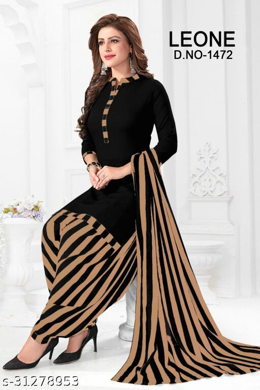 Beautiful Printed Unstiched Dress Material