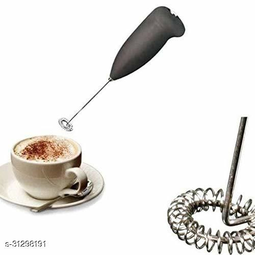 Stainless Steel Mini Hand Blender for Coffee/Egg Beater Milk Frother Electric Classic Design Hand Blender Mixer,Egg Beater,Coffee,Juice,Cappuccino,Lassi Blender