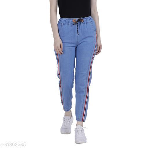 Trendy Women Denim Women Trousers