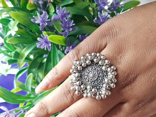 Fancy Silver Plated Rings