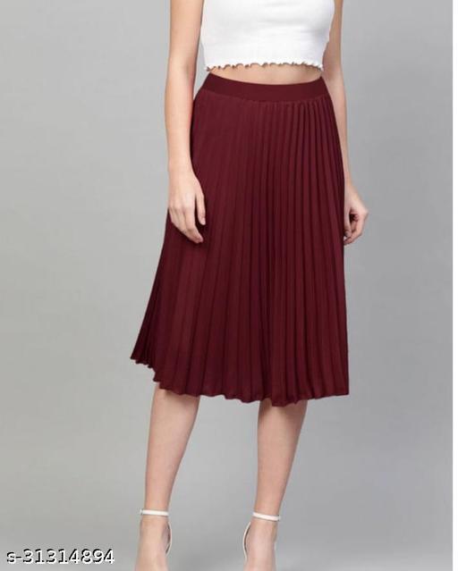 Fashionable Rayon Women Western Skirts