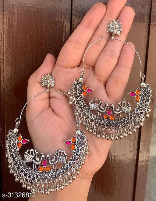 Beautiful Latest Oxidised Earrings for Women and Girls