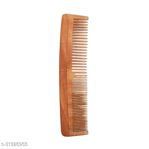 Handcrafted natural hair comb