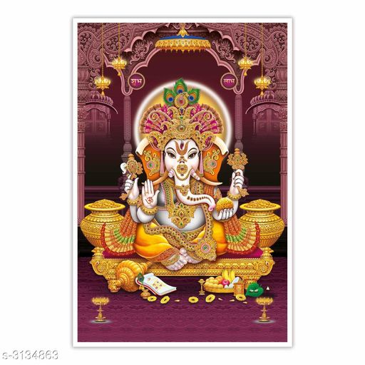Religious Idols & Paintings  Colourfull Elegant Paper Wall Poster Material: Paper Print  Size (W X H): 12 in X 18 in Description: It Has 1 Piece Of Paper Wall Poster Work : Printed Country of Origin: India Sizes Available: Free Size *Proof of Safe Delivery! Click to know on Safety Standards of Delivery Partners- https://ltl.sh/y_nZrAV3   Catalog Name: New Colourfull Elegant Paper Wall Posters Vol 15 CatalogID_430207 C128-SC1316 Code: 961-3134863-