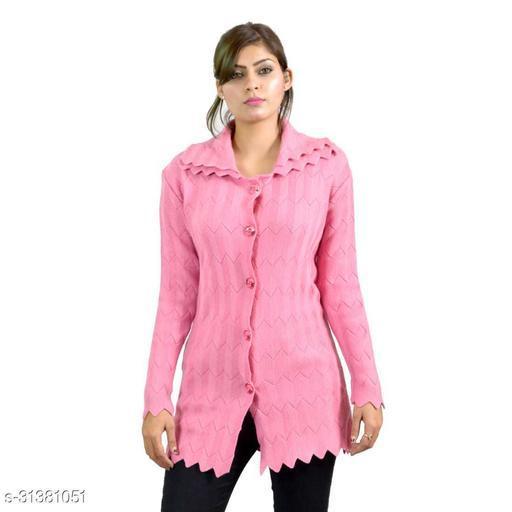 Women Button sweaters