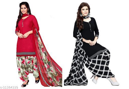 Trendy Women's Suit With Dupatta