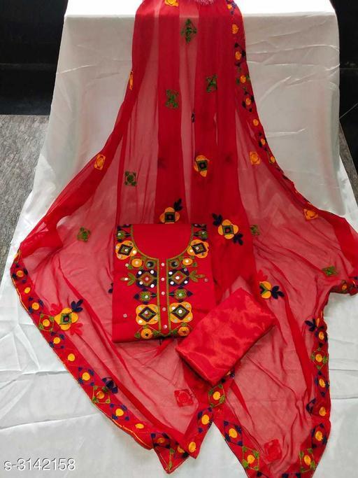 Fancy Modal Chanderi Suits & Dress Material
