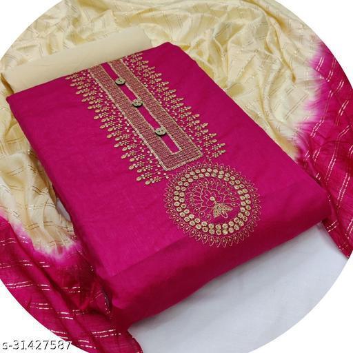 New Designers  Salwar Suit With Dupatta