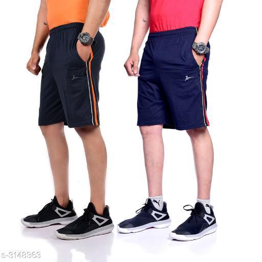 Zeffit Stylish PC Cotton Men's Short