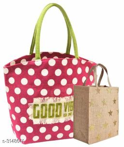 Attractive Jute Shopping Bag