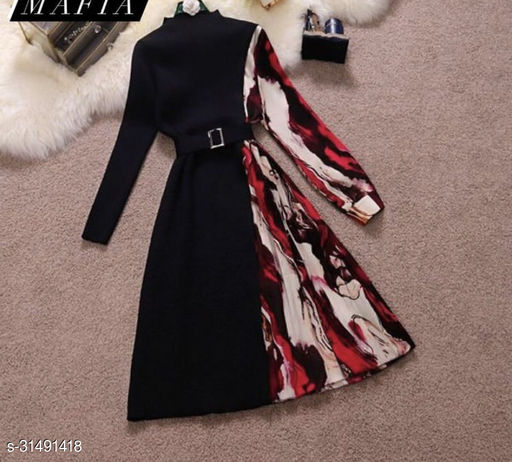 trendy new design western one picec for woman