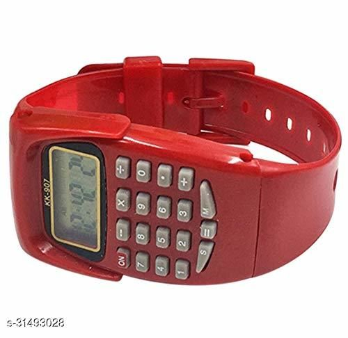 Trendy Calculater Watch For Kids