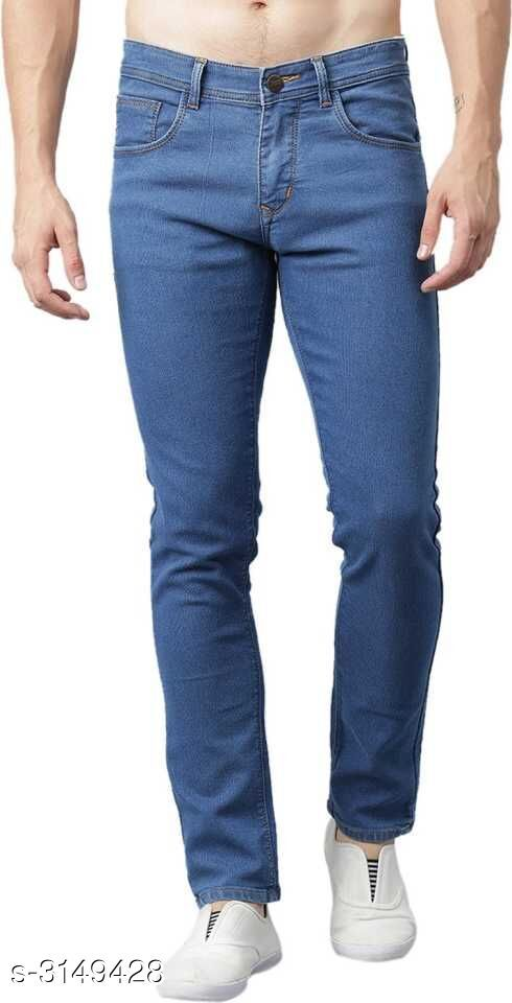 Casual Cotton Lycra Men's Jean