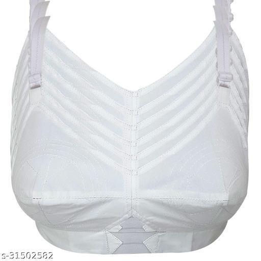 X WeLL White Moon Cotton Women's Bra