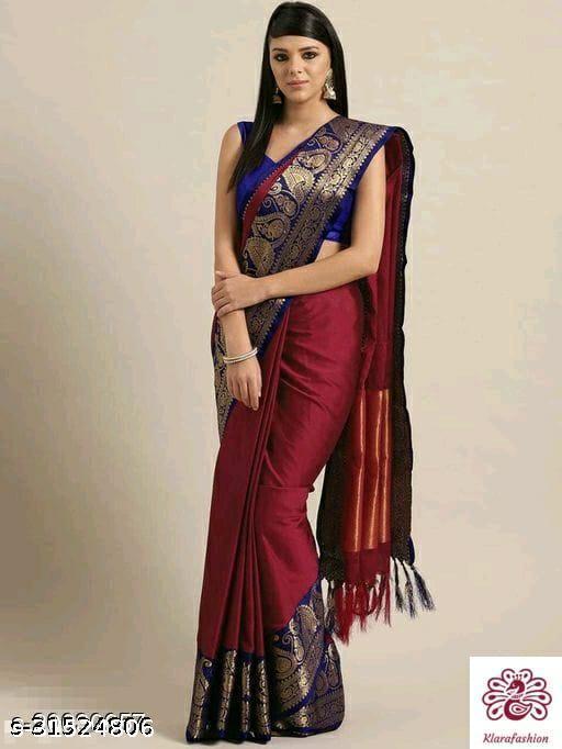 soft silk jacquard Banarasi silk saree woven saree .