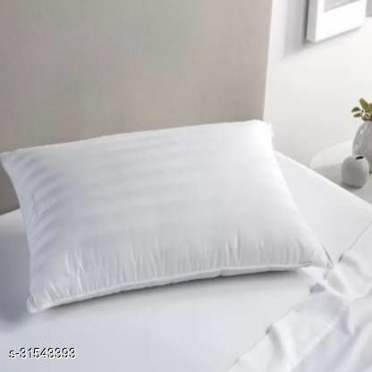 Microfibre Sleeping Pillow Pack of 1(White)