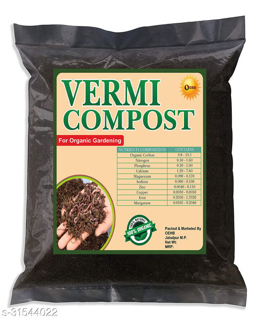 OEHB  Organic Cow Dung Based Vermicompost Manure 10kg