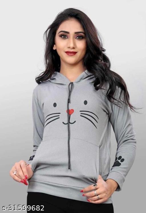 Fancy Feminine Women Sweatshirts