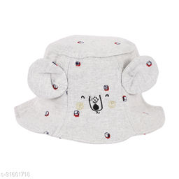 Mouse Bucket fisherman Ambitieux hat for kids baby boys or girls of age 1 to 4yrs Cute trending hats with adjustable rope