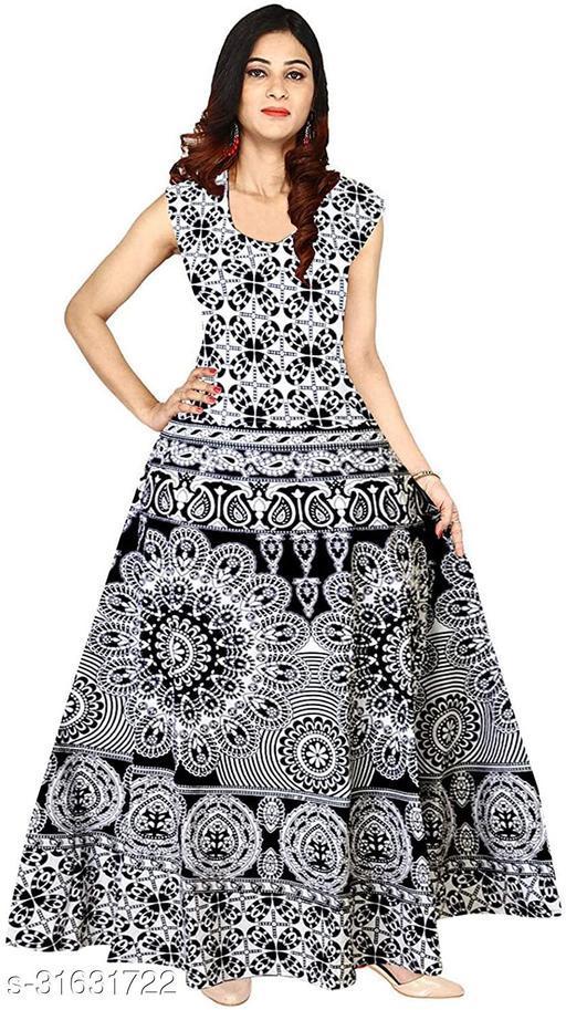 JAIPUR PRINT COTTON WOMEN DRESSES