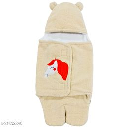 BRANDONNBaby Blankets New Born Pack of Supersoft Wearable Designer Baby boys, Baby Girls Sleeping Bag For Babies