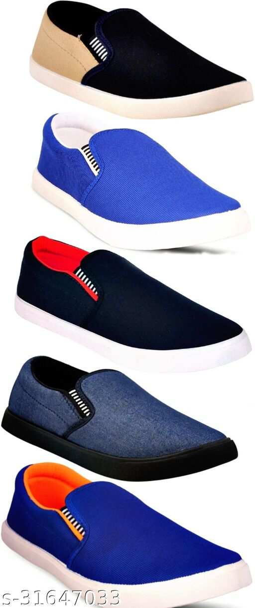 Modern Graceful Combo Pack of 5 Casual Shoes