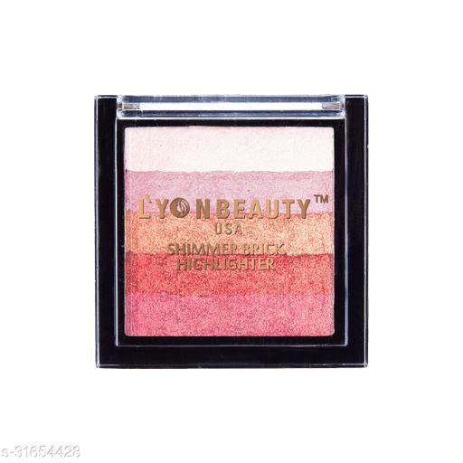 Lyon Beauty BRICK HIGHLITER LB B400011 (Shade-102) Highlighter(Multicolor)