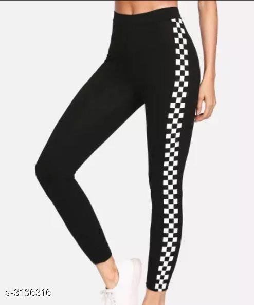 Sportswear Bottoms Attractive Fancy Cotton Lycra Women's Sports Bottom Wear  *Fabric* Cotton Lycra  *Size* XS - 26 in, S - 28 in, M - 30 in, L - 32 in  *Length* Up To 39 in  *Type* Stitched  *Description* It Has 1 Piece Of Women's Sports Bottom Wear  *Pattern* Striped  *Sizes Available* 26, 28, 30, 32, 34 *   Catalog Rating: ★3.5 (13)  Catalog Name: New Attractive Fancy Cotton Lycra Women's Sports Bottom Wear Vol 5 CatalogID_434812 C78-SC1059 Code: 662-3166316-