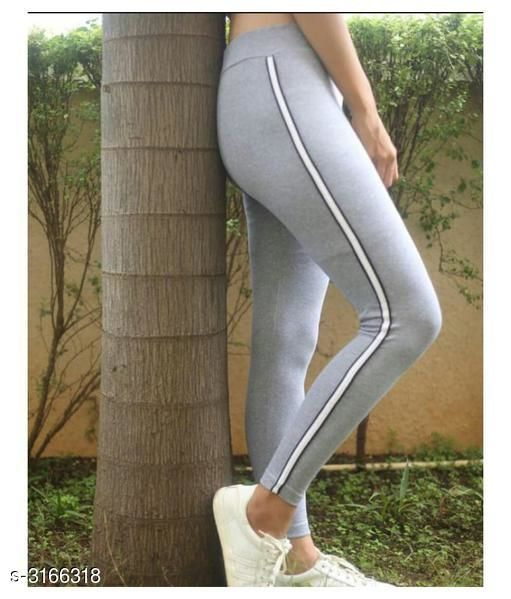 Sportswear Bottoms Attractive Fancy Cotton Lycra Women's Sports Bottom Wear  *Fabric* Cotton Lycra  *Size* XS - 26 in, S - 28 in, M - 30 in, L - 32 in  *Length* Up To 39 in  *Type* Stitched  *Description* It Has 1 Piece Of Women's Sports Bottom Wear  *Pattern* Striped  *Sizes Available* 26, 28, 30, 32 *   Catalog Rating: ★3.5 (13)  Catalog Name: New Attractive Fancy Cotton Lycra Women's Sports Bottom Wear Vol 5 CatalogID_434812 C78-SC1059 Code: 662-3166318-
