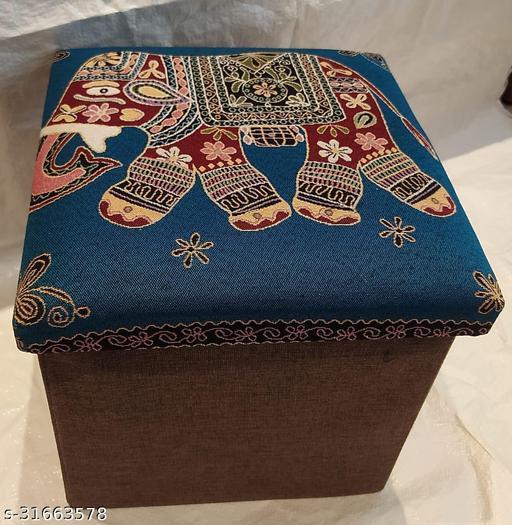Foldable Storage Box Cum Seat