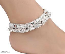 Sizzling Glittering Women Anklets & Toe Rings