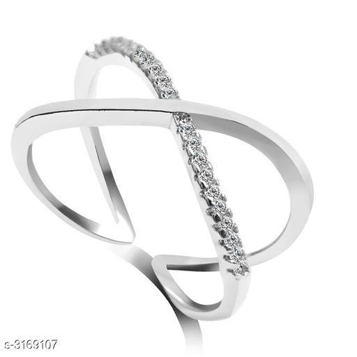 Voguish Stainless Steel Women's Finger Ring
