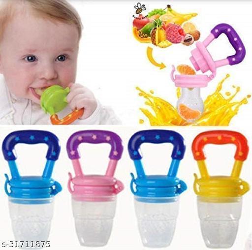 Fruit and Food Nibbler & Feeding Pacifier BPA Free 1 Pc Feede Feeder  (Multicolor)