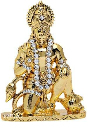 Religious Idols & Paintings Elegant Idol  *Material* Brass  *Size* Free Size  *Description* It Has 1 Piece Of  God Idols  *Sizes Available* Free Size *    Catalog Name: Colourfull Elegant Idols Vol 15 CatalogID_436373 C128-SC1316 Code: 353-3175805-