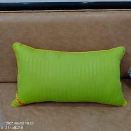 Green Pillow Reliance Recorn Fiber Quality 16x26 Inch