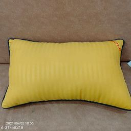 Yellow Pillow Reliance Recorn Fiber Quality 16x26 Inch