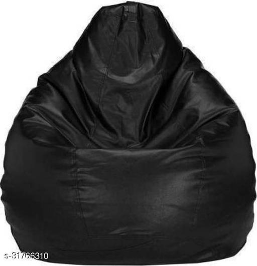 RK MART XXL BLACK BEAN BAG WITHOUT BEANS