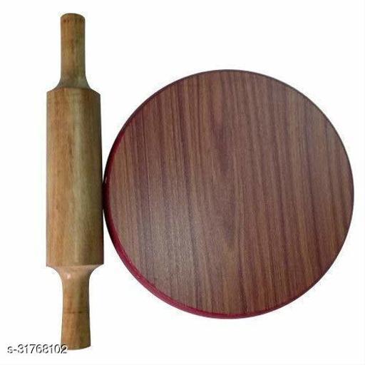 Shahi Durbar Plywood Roti Maker (Chakla 9 in) (Belen 12 in)