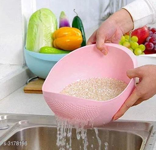 Plastic Washing Bowl Colander