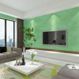3D Wallpaper for walls, Self Adhesive wall Sticker - 45cm x  5M - 531Green