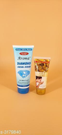 Aroma Premium Choice Face Scrub & Face Wash