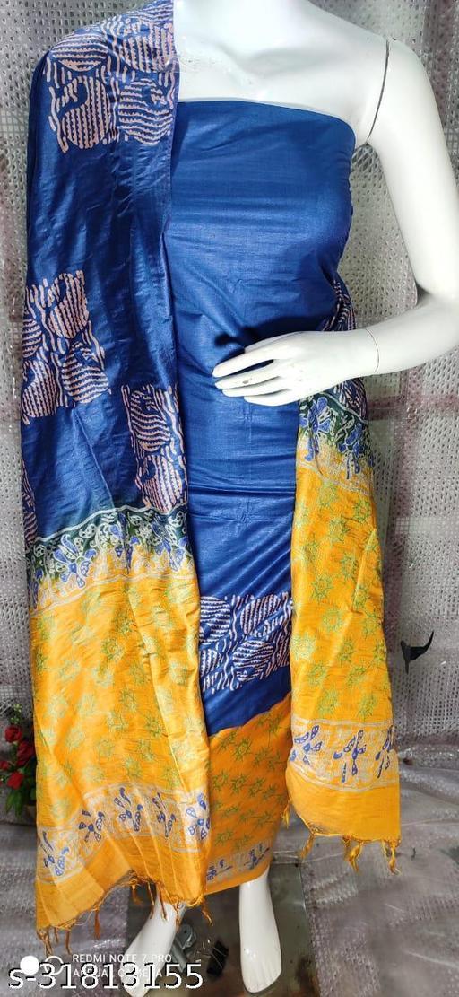 Trendy  Cotton Silk  Salwar Suits & Dress Materials