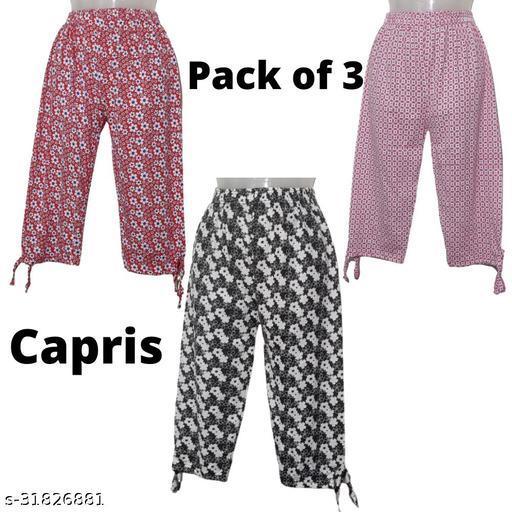 Stylish Partywear Women Capris