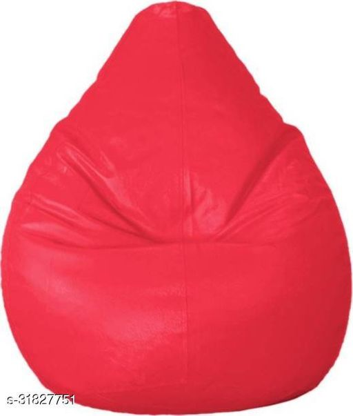 RK MART PINK XXL BEAN BAG  COVER WITHOUT BEANS