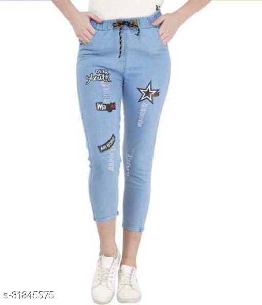 Trendy Girls Denim Jeans