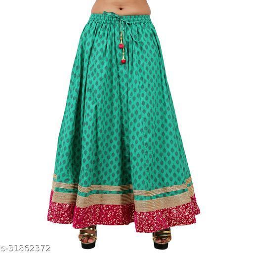 Vastradhar Women's Ethnic Western Skirts Free Size