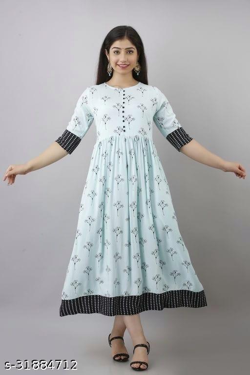 Trendy Rayon Kurti For Women