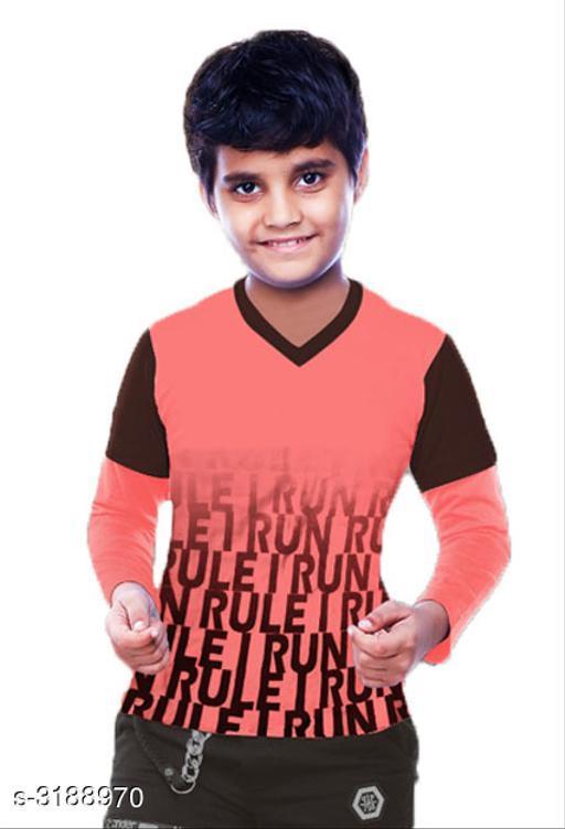 Adorable Cotton Printed Kid's Tshirt